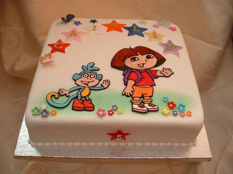 Dora Cake for Caitlin