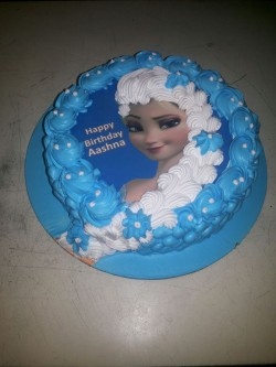 Happy Birthday Elsa Cake