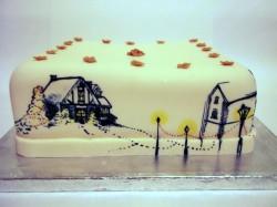 Nice Christmas Cake