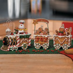 Nice Gingerbread Train