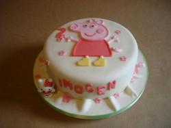 Peppa Pig Cake for Imogen
