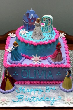Princess Cake for Olivia
