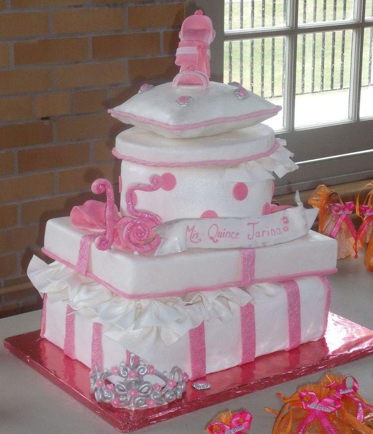 Tarina Quinceanera Cake