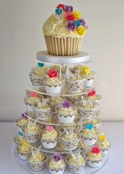 Wedding Cupcakes Tower