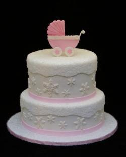 Winter Baby girl Cake