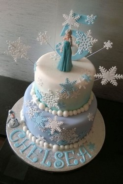 Winter Frozen Cake