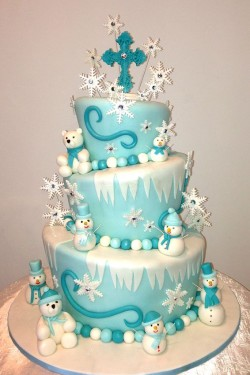 Winter Wonderland Cake