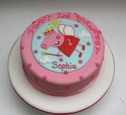 Birthday Cake with Peppa Pig