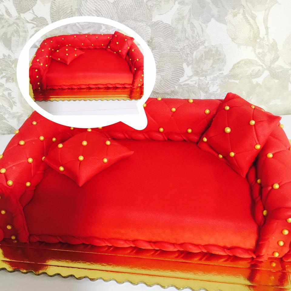 Birthday Cake Sofa