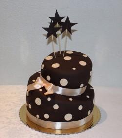 Chocolate Dots Cake