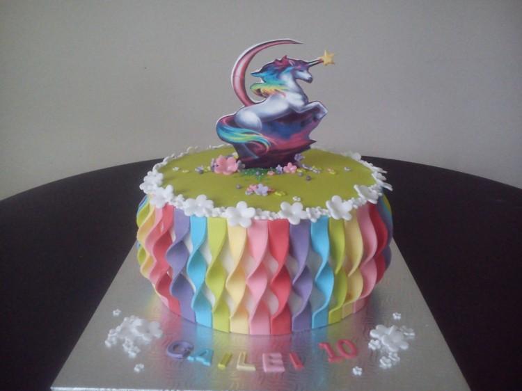 Rainbow Wedding Cake Ideas