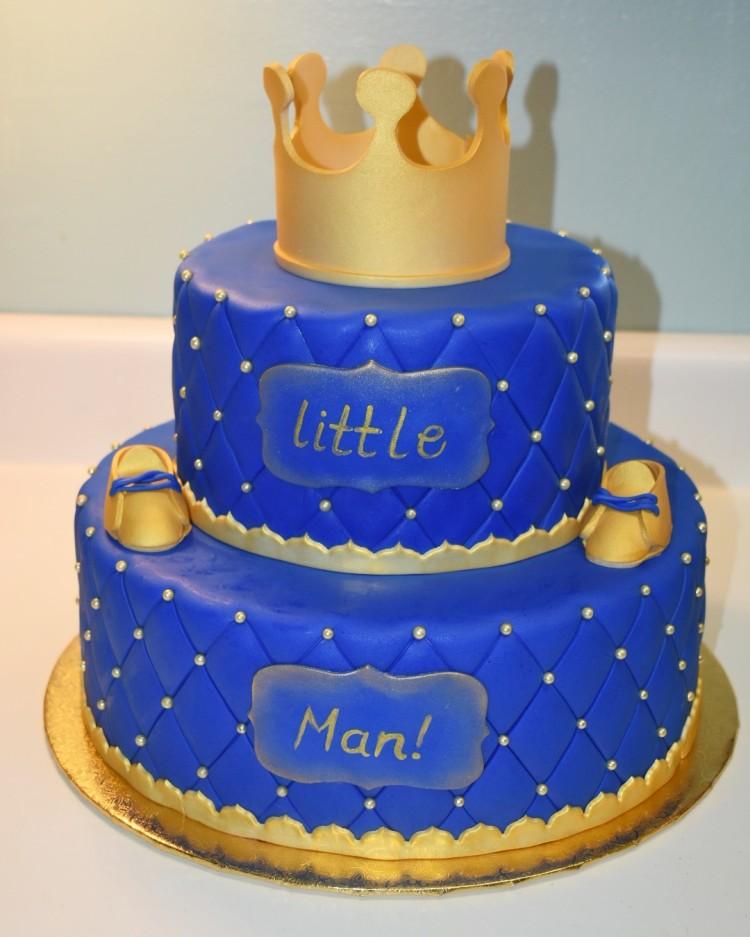 Gotcakes Little King Birthday Cake