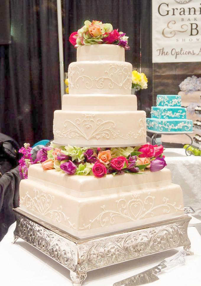 wonderful, wedding cake