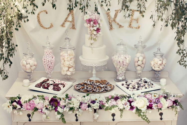 Cute Wedding Dessert Table