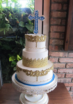 Cute Communion Cake